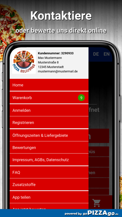 Pizza Hollywood Karlsruhe screenshot 3