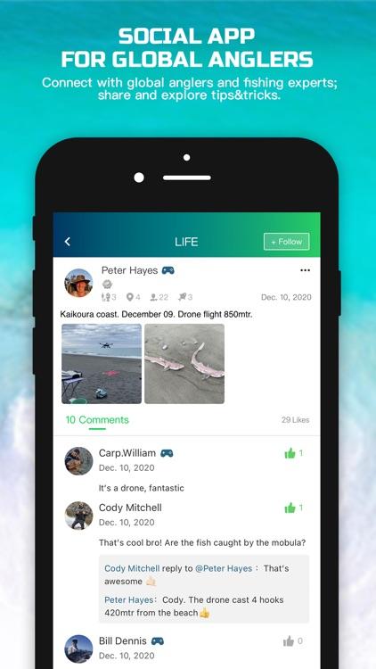 Rippton – Social Fishing App