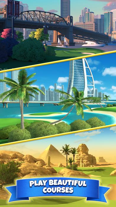 Screenshot from Golf Clash