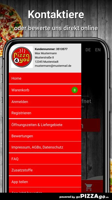 Pizza 4 You Neufahrn screenshot 3