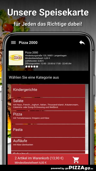 Pizza 2000 Langenhagen screenshot 3