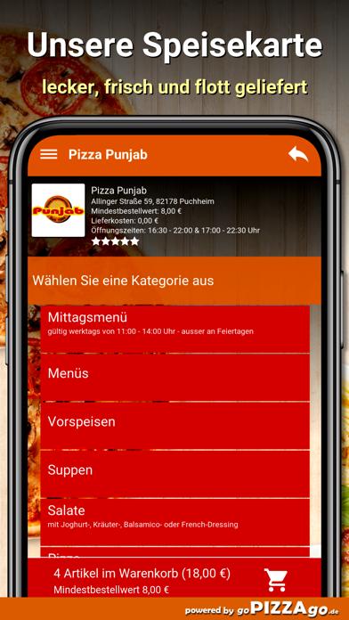 Pizza-Punjab Puchheim screenshot 4