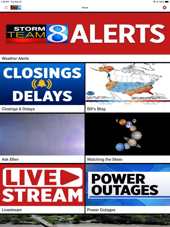 Storm Team 8 - WOODTV8 Weatherのおすすめ画像2