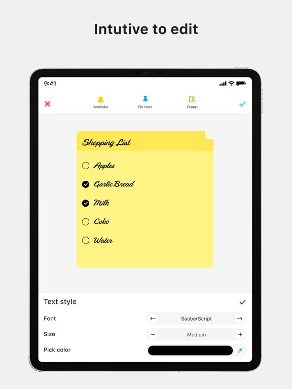 Color Note - Notepad screenshot 8