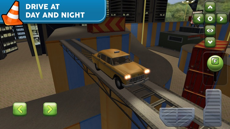 Obstacle Course Car Parking screenshot-4