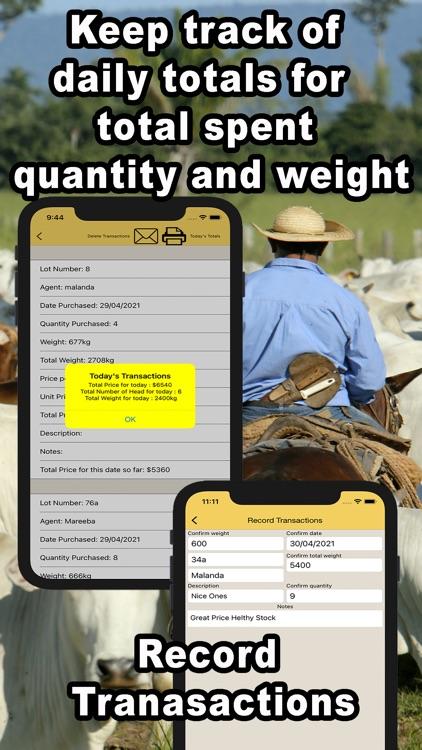 Livestock Auction Calculator screenshot-4