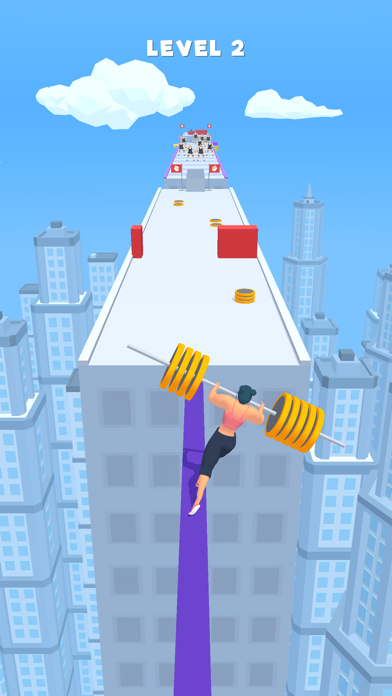 Weight Runner 3D screenshot 1