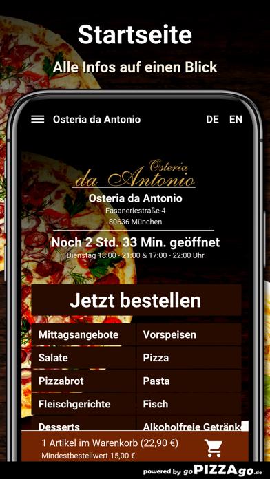 Osteria da Antonio München screenshot 2