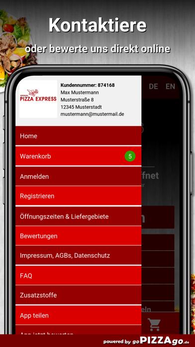 Pizza-Express Würzburg screenshot 4