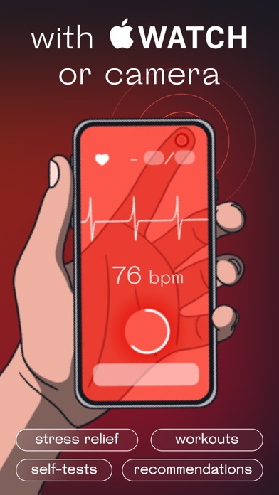 Welltory: Blood Pressure Pulse screenshot
