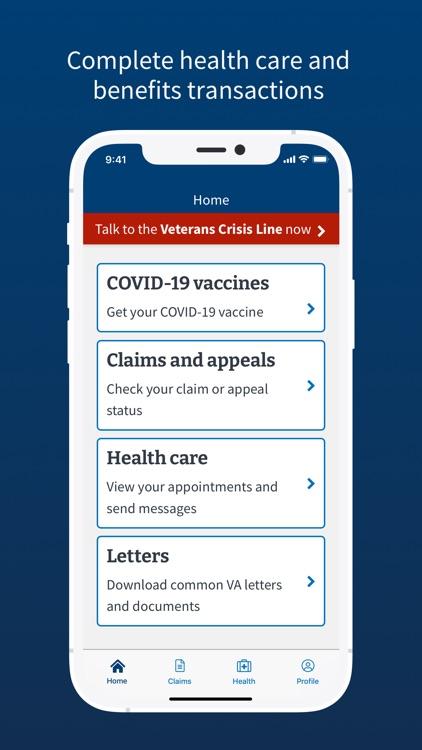 VA: Health and Benefits