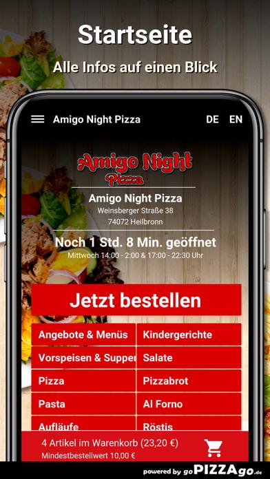 Amigo Night Pizza Heilbronn screenshot 2