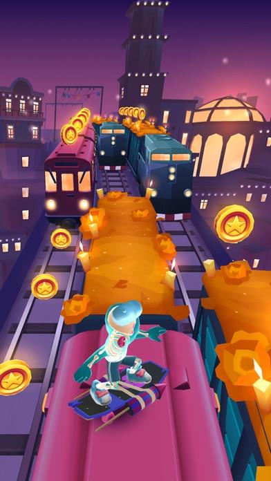 Screenshot from Subway Surfers