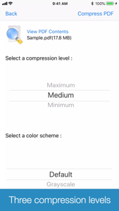 PDF Size Compressor App 视频
