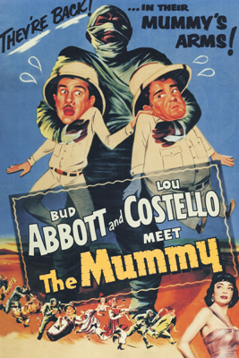 Charles Lamont - Abbott and Costello Meet the Mummy  artwork