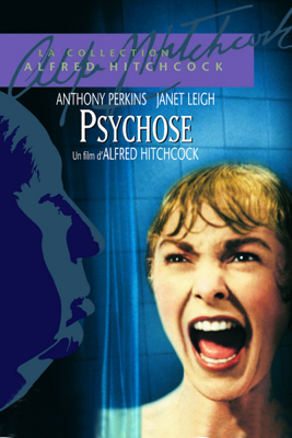 Alfred Hitchcock - Psychose (1960) illustration