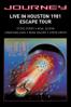 Journey - Live in Houston  artwork