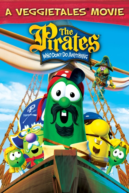 the pirates who dont do anything a veggietales movie on