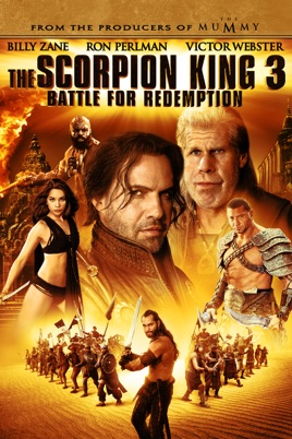 Poster of The Scorpion King 3: Battle for Redemption 2012 Full Hindi Dual Audio Movie Download BluRay 720p