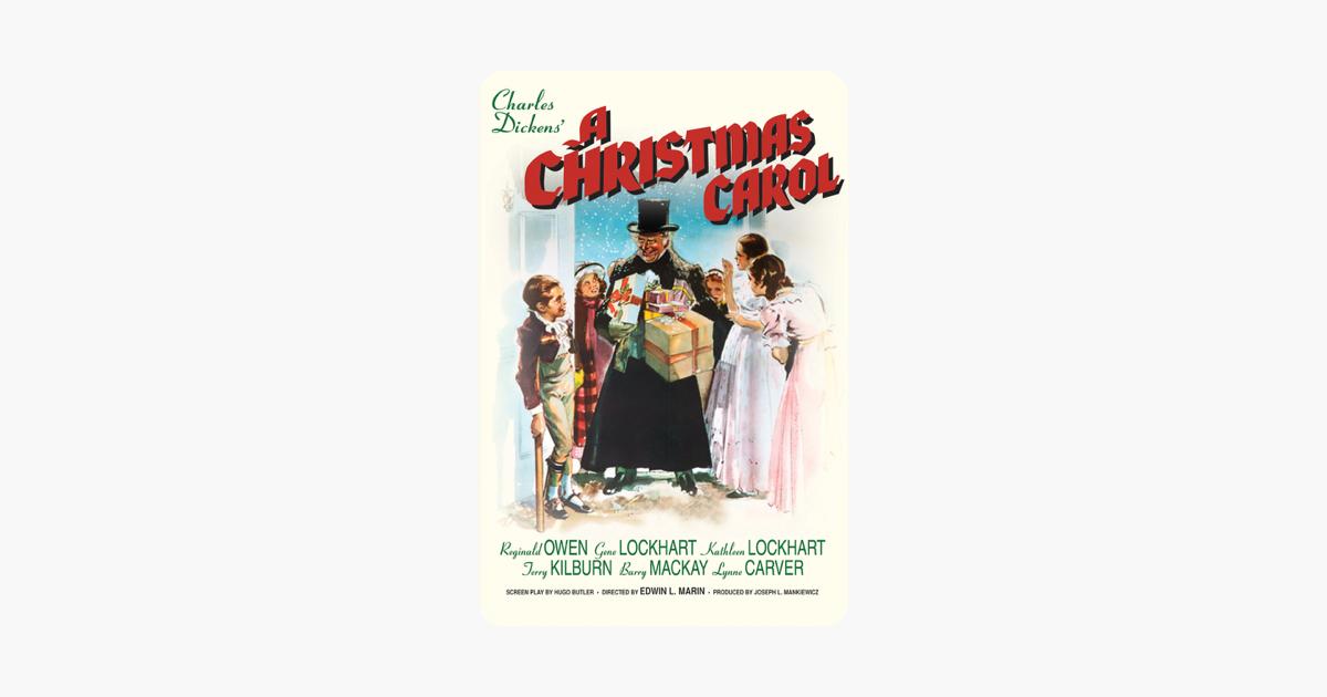 A Christmas Carol on iTunes