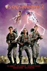 Capa do filme Os Caça-Fantasmas 2 (Ghostbusters II)