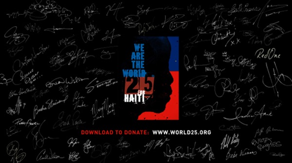 Artists for Haiti - We Are the World 25 for Haiti - Single music video wiki, reviews