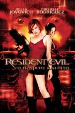 Capa do filme Resident Evil - O Hóspede Maldito (Legendado)