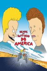 Capa do filme Beavis & Butt-head Detonam A America (Beavis And Butthead: Do America)