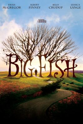 Tim Burton - Big Fish illustration