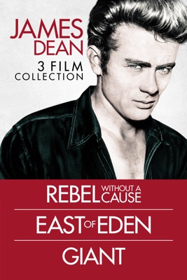 Poster for James Dean 3 Film Collection