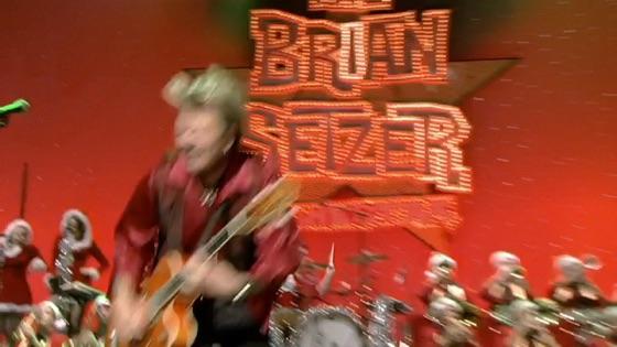 Brian Setzer Christmas.The Brian Setzer Orchestra Live Christmas Extravaganza On Itunes