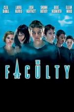 Capa do filme The Faculty