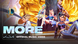 More (feat. 刘柏辛Lexie, Jaira Burns, Seraphine & League of Legends) - K/DA, Madison Beer & (G)I-DLE Cover Art