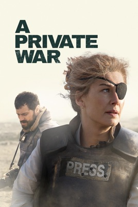 A Private War (15), Amy Robsart Hall, Syderstone PE31 8SD | The story of Marie Colvin, the celebrated war correspondent. | cinema