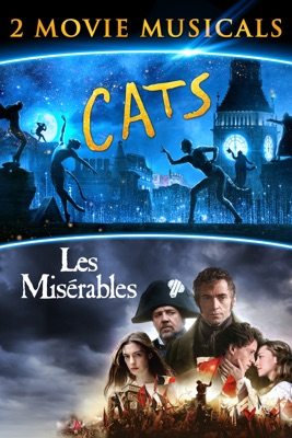 Poster for Cats/Les Miserables 2 Movie Musicals
