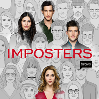 Imposters - The World Needs Heroes. Over. artwork