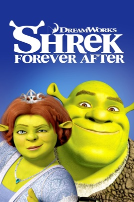 Poster of Shrek Forever After 2010 Full Hindi Dual Audio Movie Download BluRay 720p