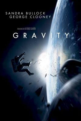 Alfonso Cuarón - Gravity  artwork