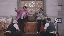 Uptown Funk (feat. Bruno Mars) - Mark Ronson Cover Art