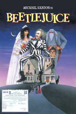 Tim Burton - Beetlejuice artwork