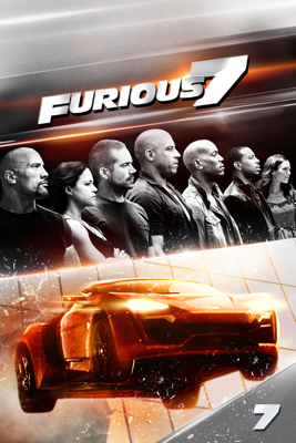 James Wan - Furious 7  artwork