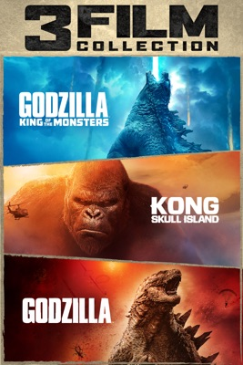 Poster for Godzilla & Kong 3-Film Collection