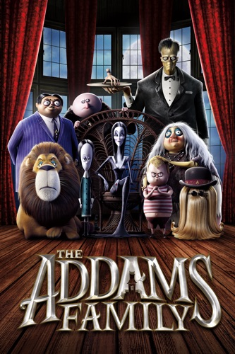 The Addams Family (2019) movie poster