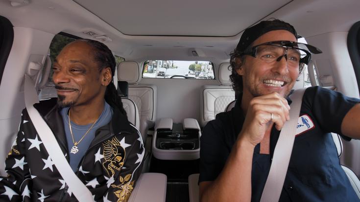 Snoop Dogg Matthew Mcconaughey Carpool Karaoke On Apple Tv