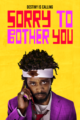 Boots Riley - Sorry to Bother You  artwork