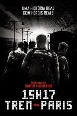 Capa do filme 15h17: Trem para Paris