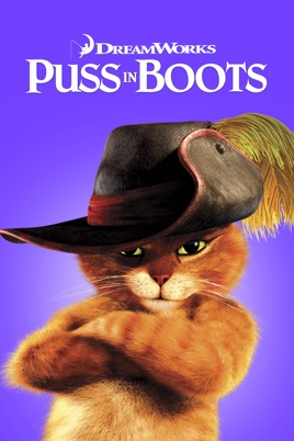 Poster of Puss in Boots 2011 Full Hindi Dual Audio Movie Download BluRay 720p