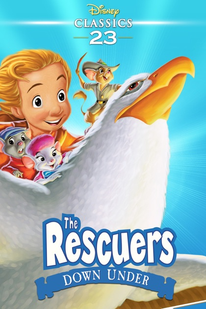 The Rescuers Down Under On Itunes