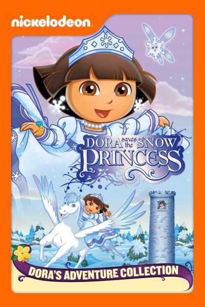 Dora saves the snow princess dora the explorer on itunes - Princesse dora ...