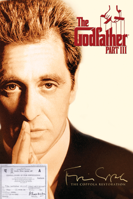 Francis Ford Coppola - The Godfather Part III artwork